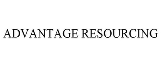 mark for ADVANTAGE RESOURCING, trademark #77944172