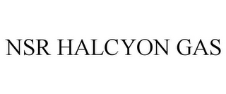 mark for NSR HALCYON GAS, trademark #77945197