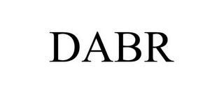 mark for DABR, trademark #77946998
