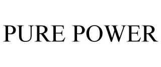 mark for PURE POWER, trademark #77947049