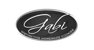 mark for GABI DISTINCTIVE HOMEMADE COOKIES, trademark #77947950