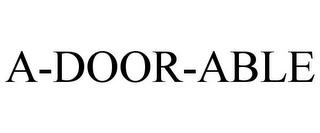 mark for A-DOOR-ABLE, trademark #77949438