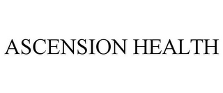 mark for ASCENSION HEALTH, trademark #77950779
