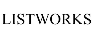 mark for LISTWORKS, trademark #77953091