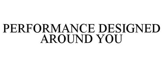 mark for PERFORMANCE DESIGNED AROUND YOU, trademark #77953997