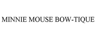 mark for MINNIE MOUSE BOW-TIQUE, trademark #77954796