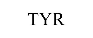 mark for TYR, trademark #77955633