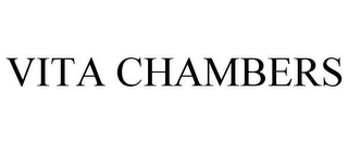 mark for VITA CHAMBERS, trademark #77958153