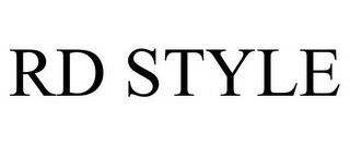mark for RD STYLE, trademark #77959833