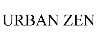 mark for URBAN ZEN, trademark #77961369
