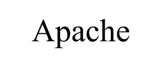mark for APACHE, trademark #77961473