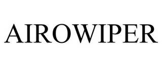 mark for AIROWIPER, trademark #77962330