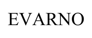 mark for EVARNO, trademark #77962401