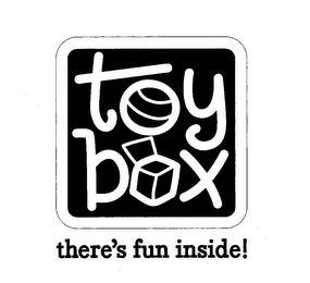 mark for TOY BOX THERE'S FUN INSIDE!, trademark #77962616