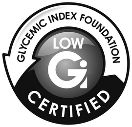 mark for LOW GI GLYCEMIC INDEX FOUNDATION CERTIFIED, trademark #77962926