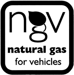 mark for NGV NATURAL GAS FOR VEHICLES, trademark #77963852