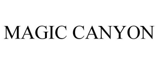 mark for MAGIC CANYON, trademark #77966458