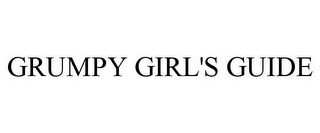 mark for GRUMPY GIRL'S GUIDE, trademark #77967464