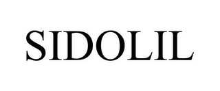 mark for SIDOLIL, trademark #77967731