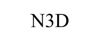 mark for N3D, trademark #77967755