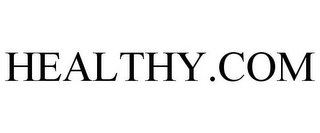 mark for HEALTHY.COM, trademark #77968104