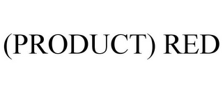 mark for (PRODUCT) RED, trademark #77969849