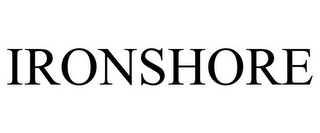 mark for IRONSHORE, trademark #77975021