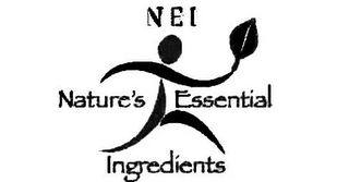 mark for NEI NATURE'S ESSENTIAL INGREDIENTS, trademark #77975893