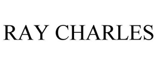 mark for RAY CHARLES, trademark #77976228