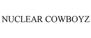 mark for NUCLEAR COWBOYZ, trademark #77980929