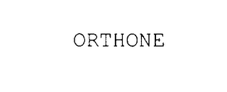 mark for ORTHONE, trademark #78007368