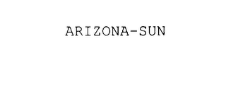 mark for ARIZONA-SUN, trademark #78009197