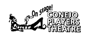 mark for CONEJO PLAYERS THEATRE ON STAGE!, trademark #78012228