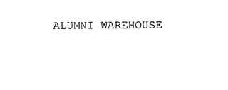 mark for ALUMNI WAREHOUSE, trademark #78013733