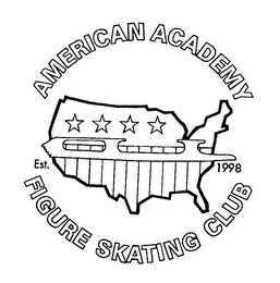 mark for AMERICAN ACADEMY FIGURE SKATING CLUB EST. 1998, trademark #78017636