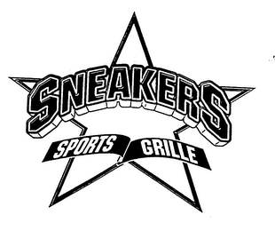 mark for SNEAKERS SPORTS GRILLE, trademark #78021174