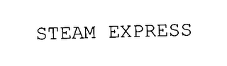 mark for STEAMEXPRESS, trademark #78021504