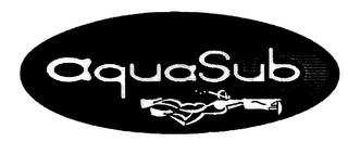 mark for AQUASUB, trademark #78024587