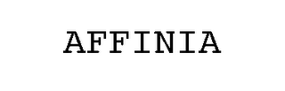 mark for AFFINIA, trademark #78031488