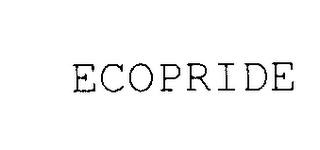 mark for ECOPRIDE, trademark #78035810