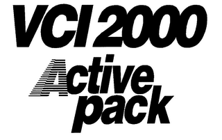 mark for VCI 2000 ACTIVE PACK, trademark #78037318