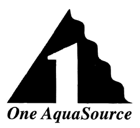 mark for 1 ONE AQUASOURCE, trademark #78044807