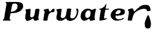 mark for PURWATER, trademark #78045538