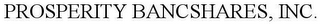 mark for PROSPERITY BANCSHARES, INC., trademark #78045938