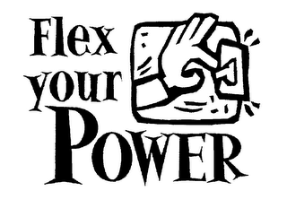 mark for FLEX YOUR POWER, trademark #78054793