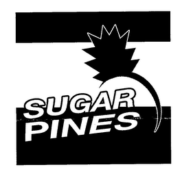 mark for SUGAR PINES, trademark #78060518