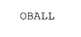mark for OBALL, trademark #78062824