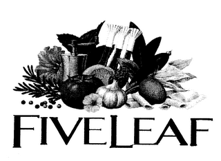 mark for FIVELEAF, trademark #78066920