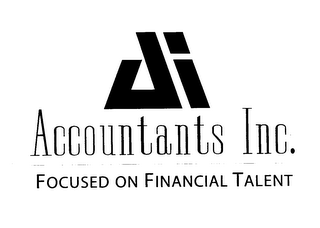 mark for A ACCOUNTANTS INC. FOCUSED ON FINANCIAL TALENT, trademark #78068546