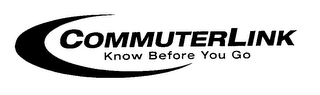 mark for COMMUTERLINK KNOW BEFORE YOU GO, trademark #78068714